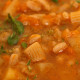 soup with spelt ditalini pasta 02